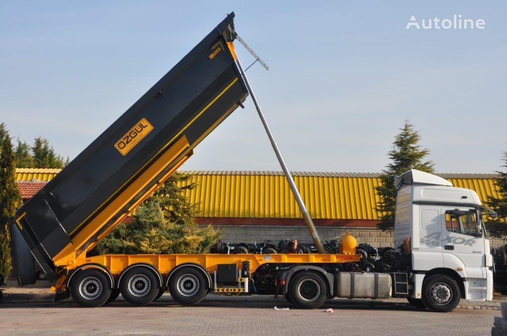 new OZGUL half-pipe tipper semi-trailer