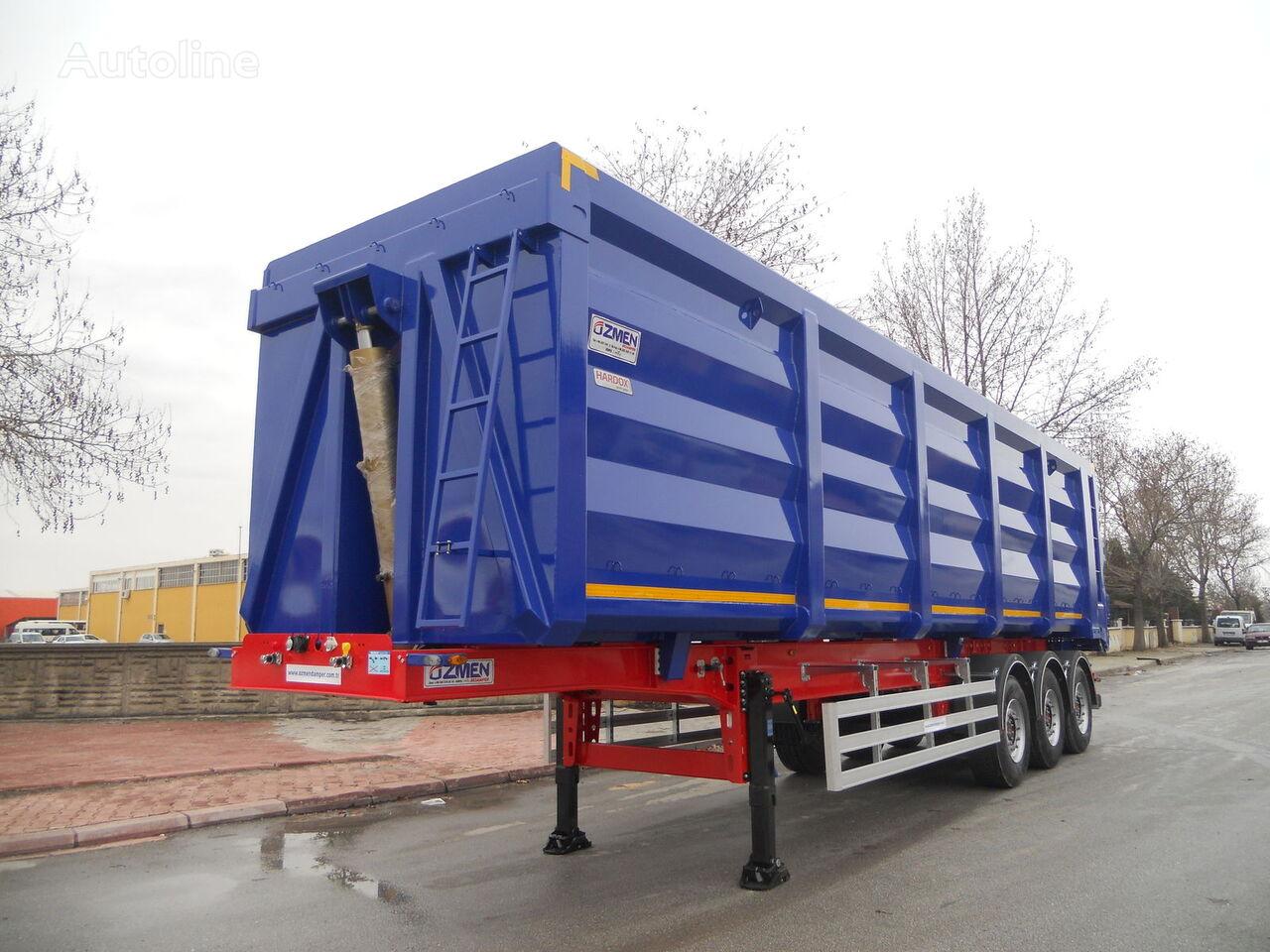 new Ozmen Damper 55-60-65-70 m3 H-450 SCRAP METAL CARRIER  tipper semi-trailer