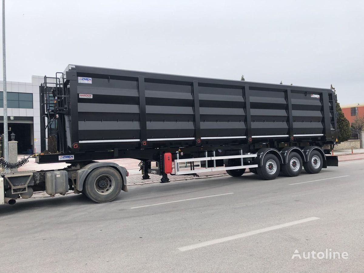 new Ozmen Damper 70-80 m3 H-450 SCRAP METAL CARRIER TIPPER SEMI TRAILER tipper semi-trailer