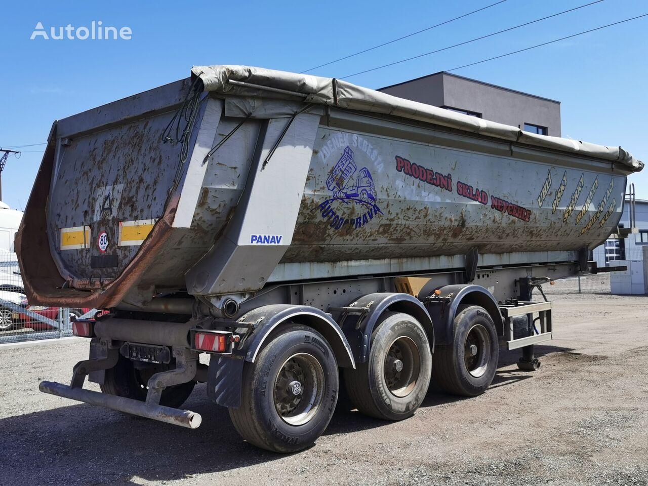 PANAV NS 1 36  tipper semi-trailer