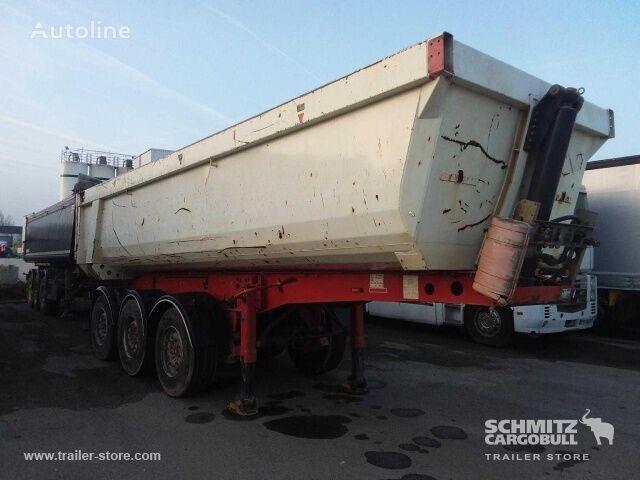 SCHMITZ CARGOBULL Benne acier caisse ronde tipper semi-trailer