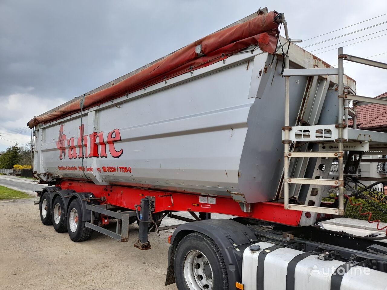 SCHMITZ CARGOBULL ski 24-hardox-45m3 tipper semi-trailer