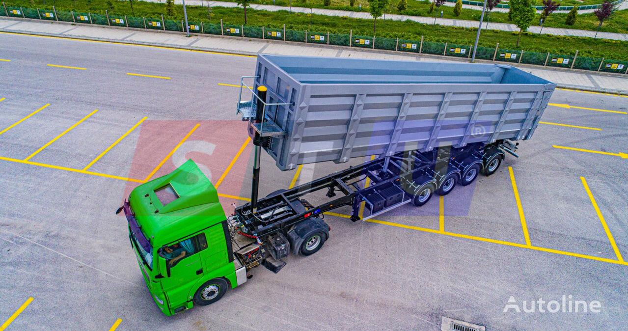 new STU 50CBM TO 71 CBM METAL SCRAP TIPPER TRAILER - MANUFACTURER tipper semi-trailer