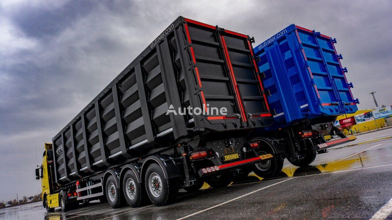 new STU 60 M3 HARDOX BODY - METAL SCRAP BUSINESS tipper semi-trailer