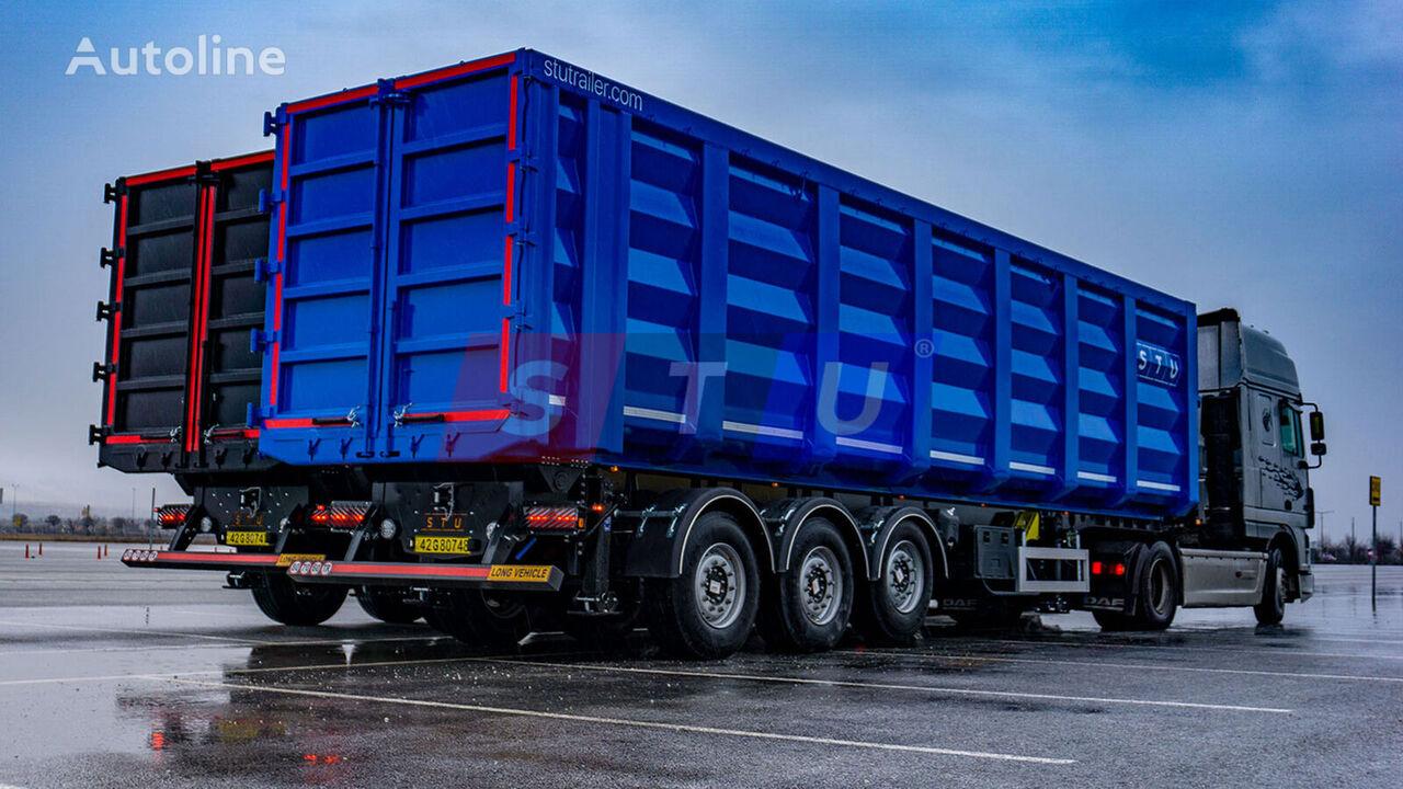 new STU 71m3 TIPPER TRAILER- FOR METAL SCRAP  tipper semi-trailer