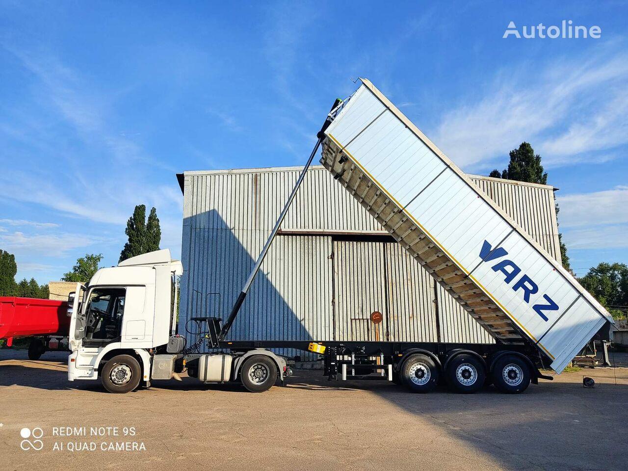 new VARZ tipper semi-trailer