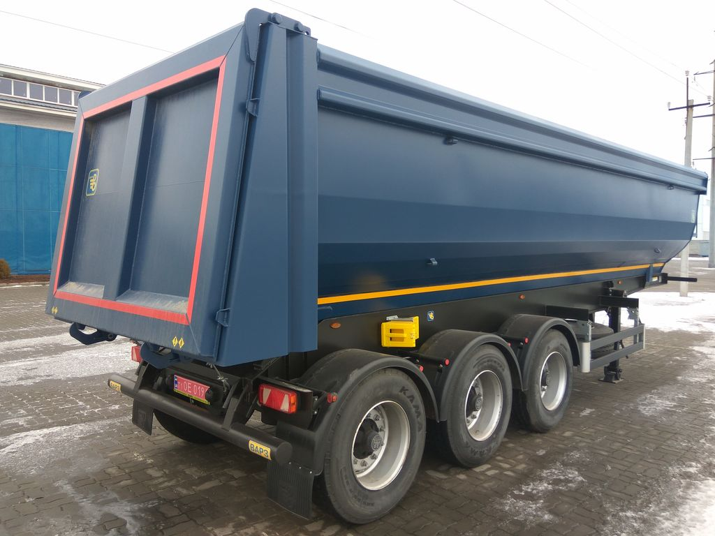 new VARZ NPS-2730 tipper semi-trailer