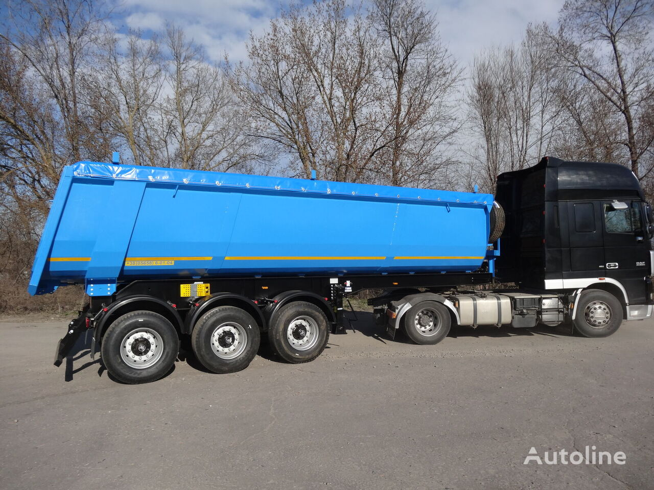 VARZ NPS 2730 tipper semi-trailer