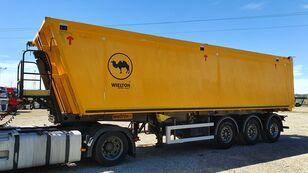 WIELTON 48m3 / PODNOSZONA OŚ / 6500KG tipper semi-trailer