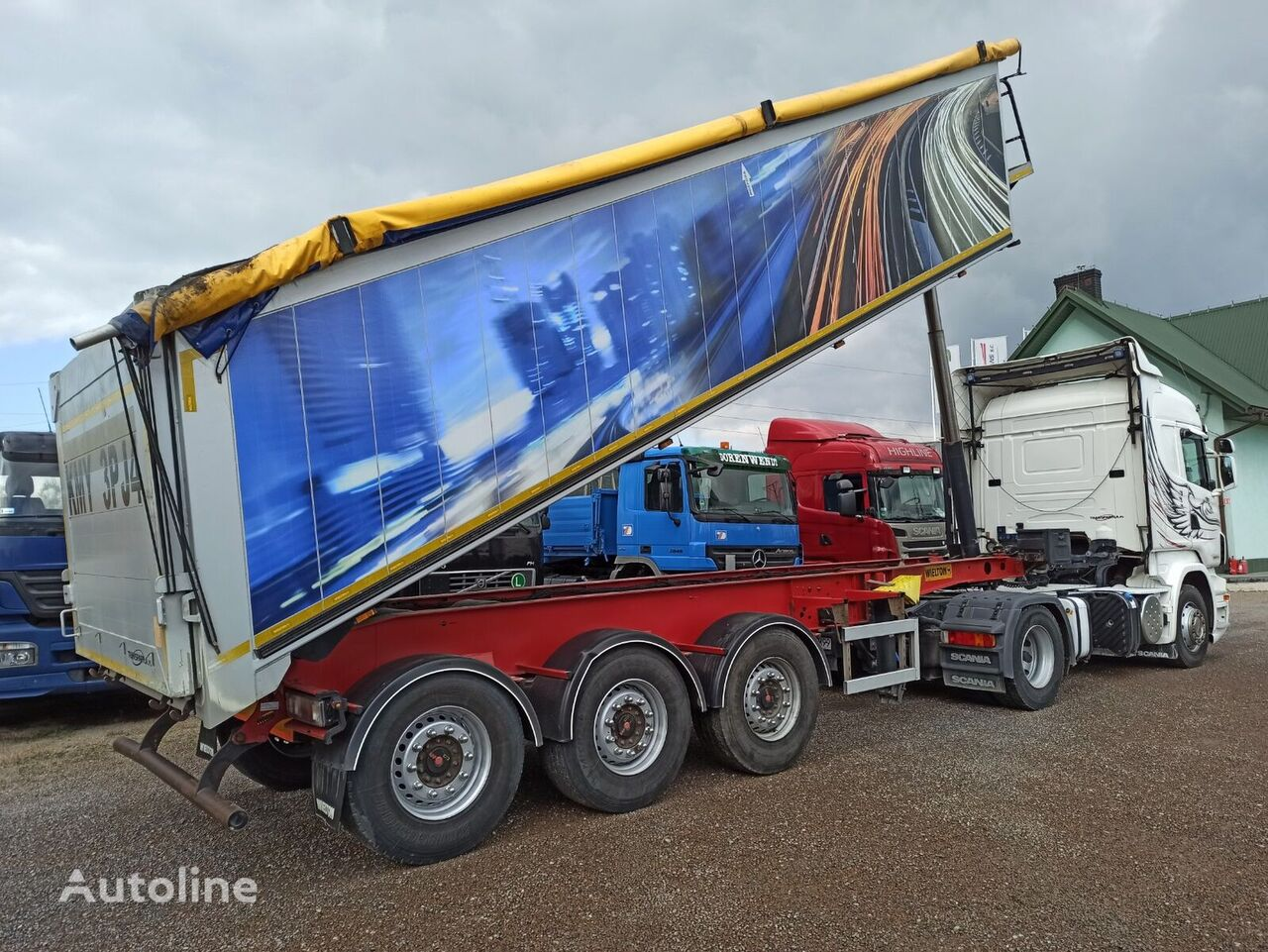 WIELTON NW-3 tipper semi-trailer