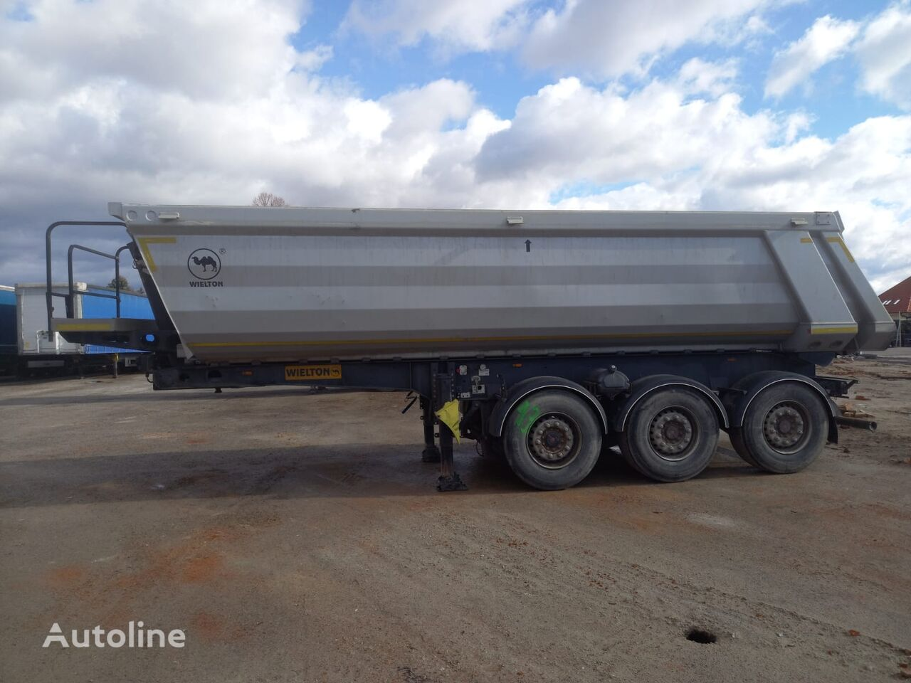 WIELTON NW3  tipper semi-trailer