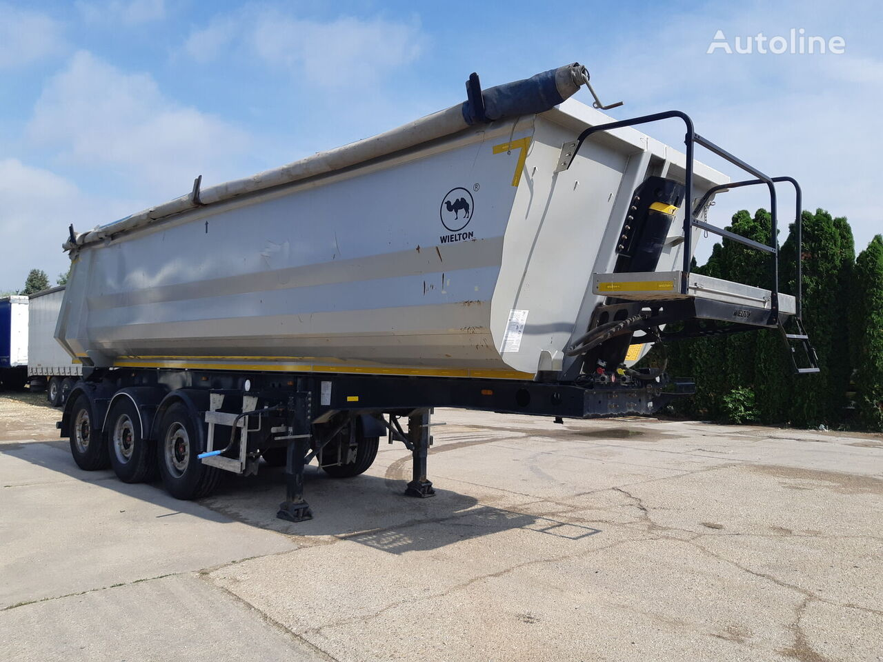 WIELTON NW3 Lift Axl 32m2 tipper semi-trailer