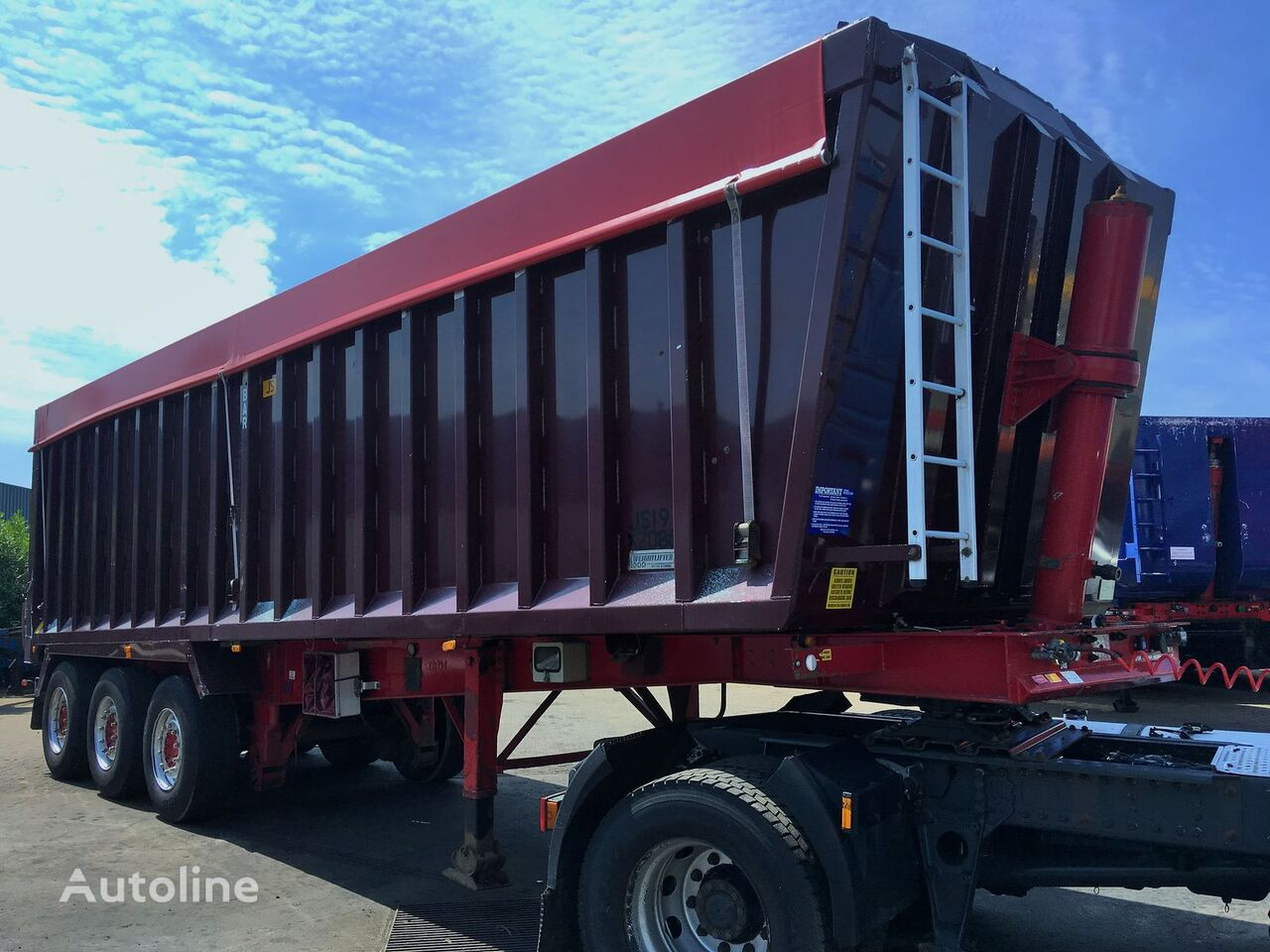 Weightlifter ALU tipper 53m3 tipper semi-trailer