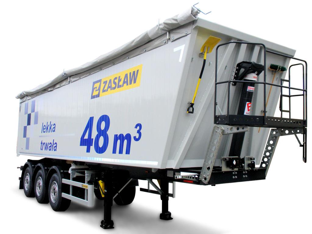 new ZASLAW TRAILIS ALUMINUM TIPPER NW.90.21.AKD.S tipper semi-trailer