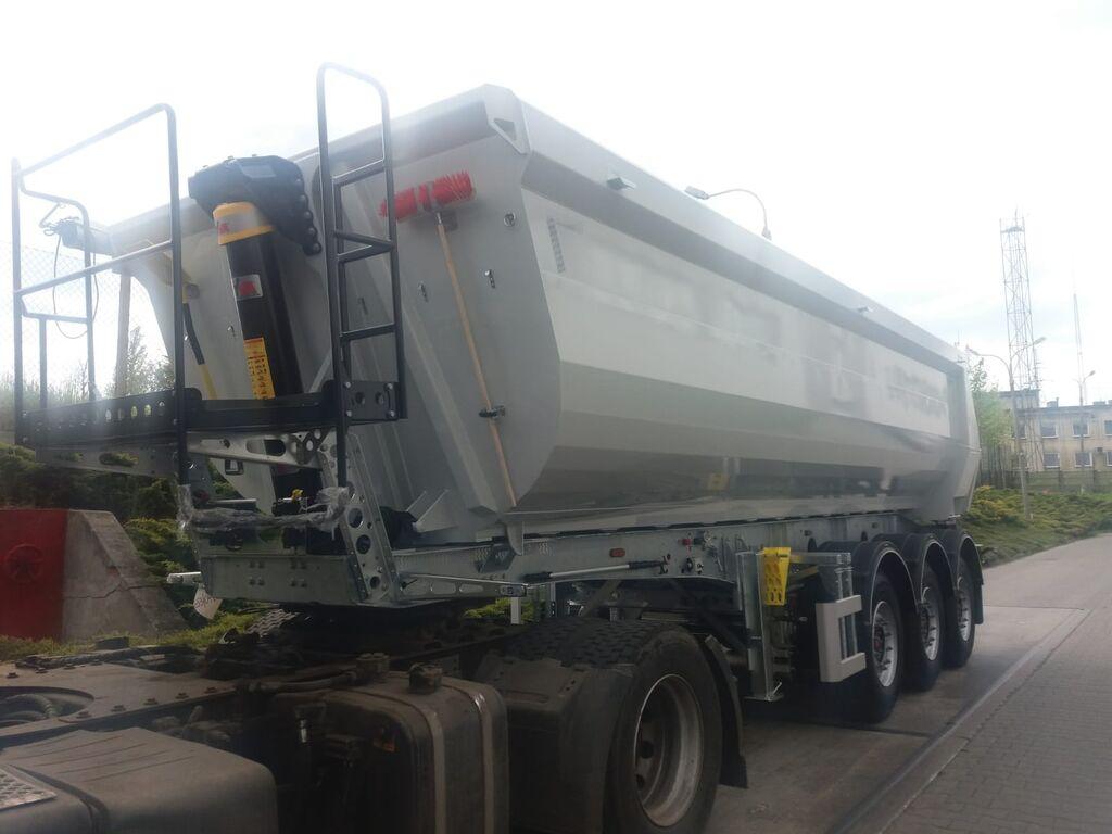 new ZASŁAW tipper semi-trailer