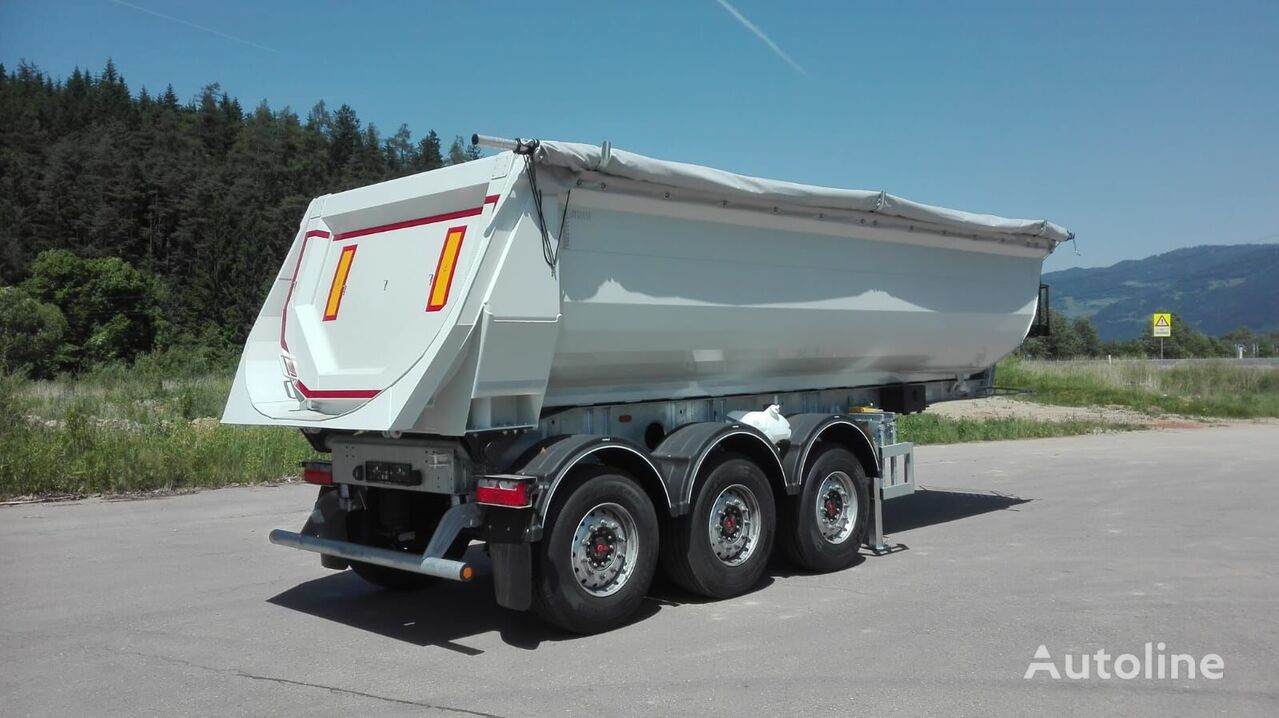 new ZASŁAW tipper semi-trailer