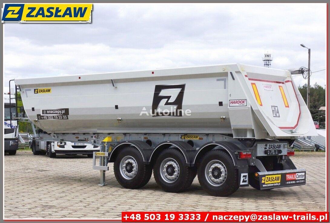 new ZASŁAW 25 m³ Half-Pipe tipper HARDOX / DOMEX 700 READY !!! tipper semi-trailer