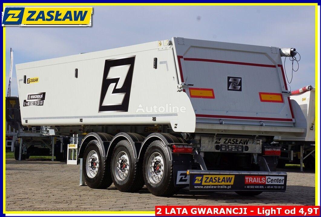 new ZASŁAW 28 m³ !! Light UP 4.990 kg !!! Tipper alubox for bitum - Ready ! tipper semi-trailer