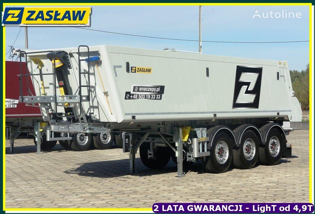 new ZASŁAW Light UP 4.990 kg !!! Tipper alubox for bitum - Ready ! tipper semi-trailer