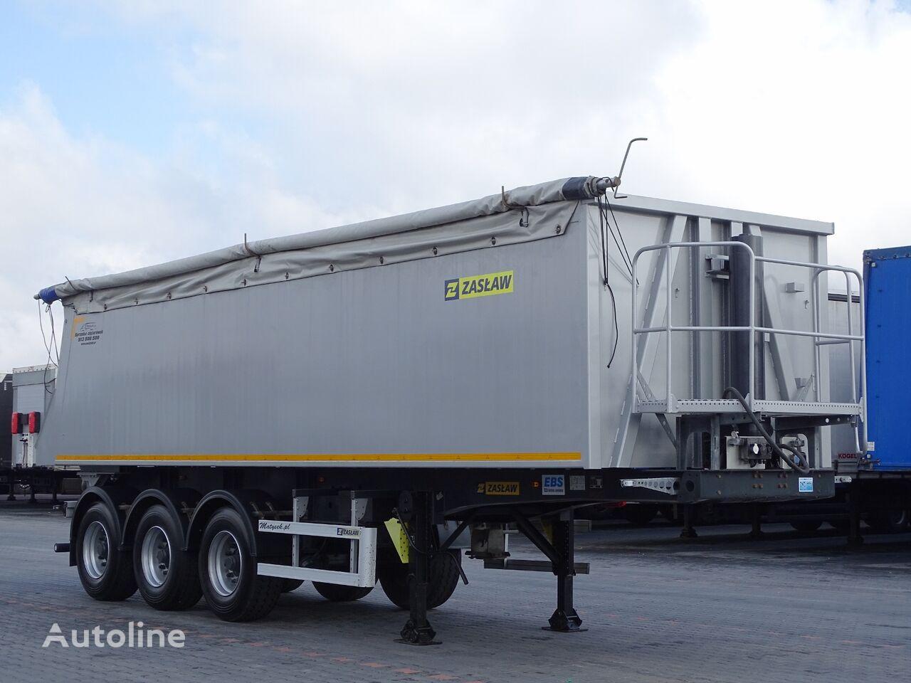 ZASŁAW TIPPER 36 M3 / LIFTED AXLE / PERFECT CONDITION tipper semi-trailer