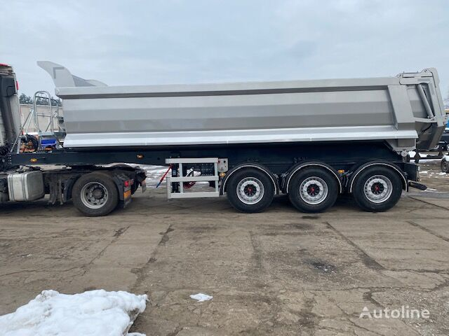 new moving boogie tipper semi-trailer