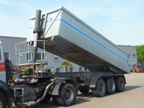 SAMOSVALNAYa SISTEMA HYVA ( Gidravlika na tyagach ) tipper semi-trailer