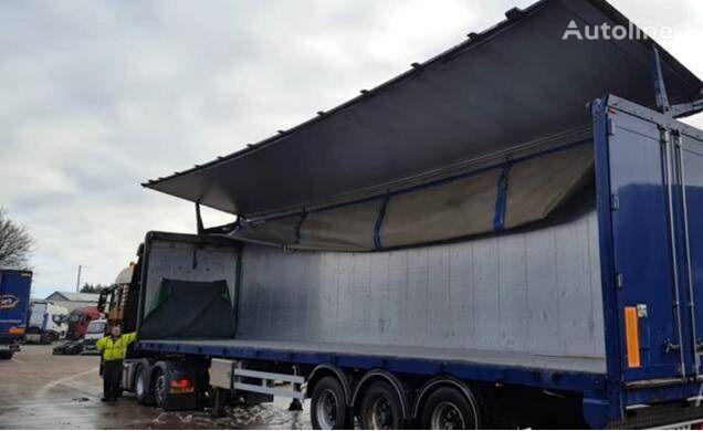 KRAKER CF/503 / EU brief walking floor semi-trailer