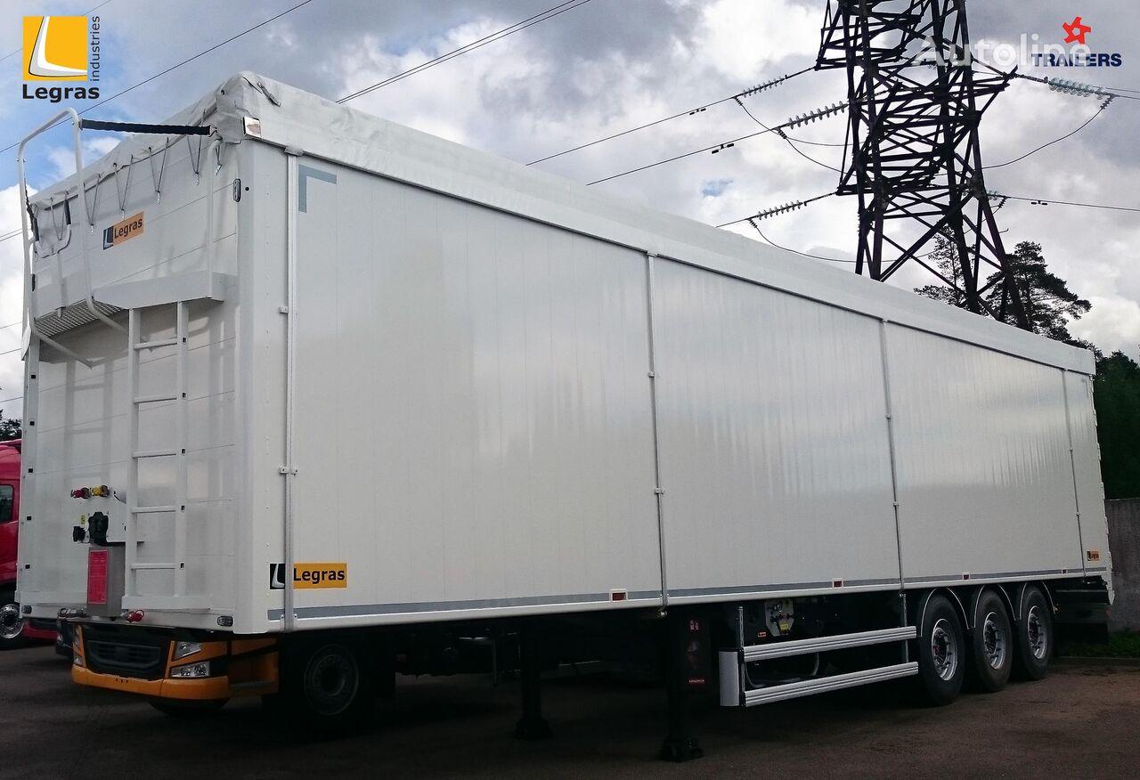 new LEGRAS Shchepovoz legkiy T7 walking floor semi-trailer