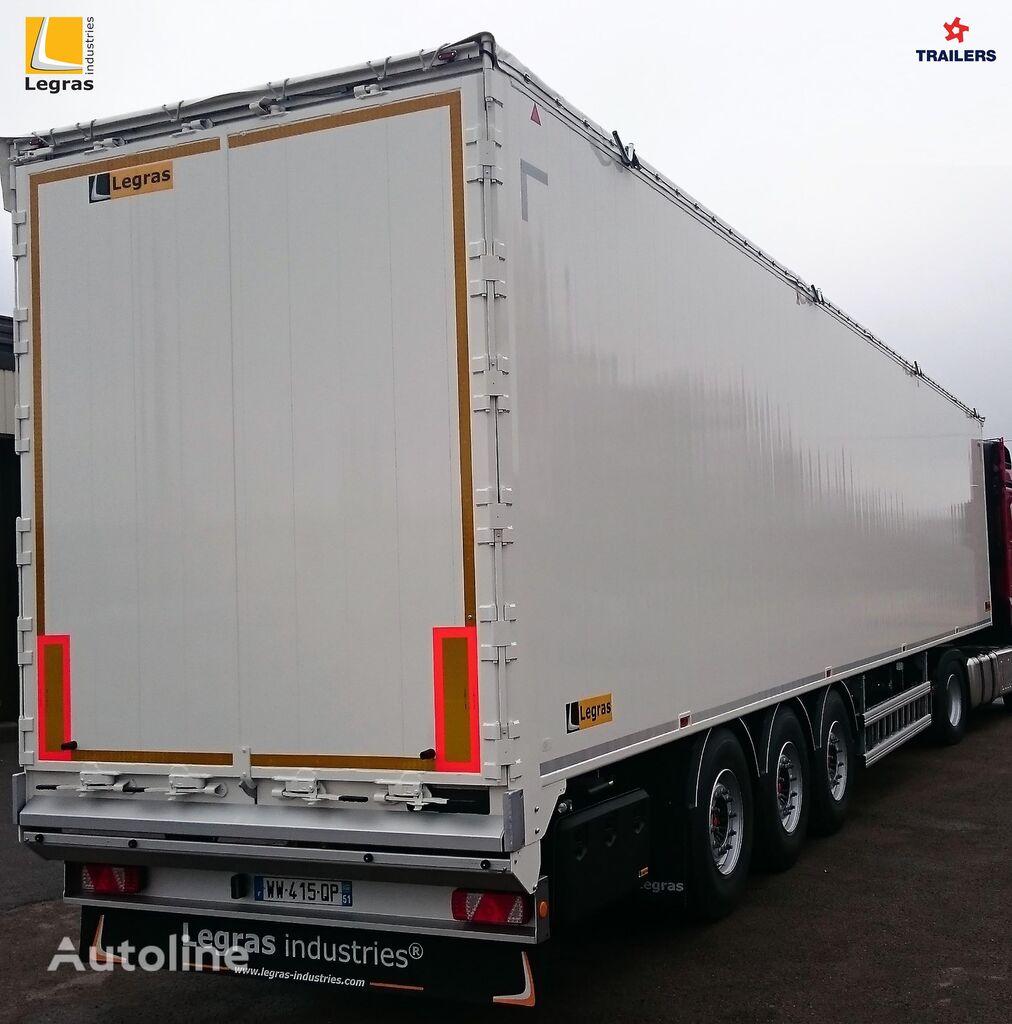 new LEGRAS Shchepovoz T10 walking floor semi-trailer