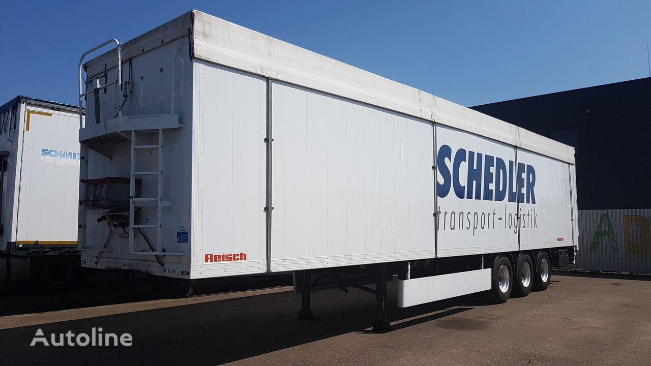 REISCH Walkingfloor 92 m3 7600 KG walking floor semi-trailer