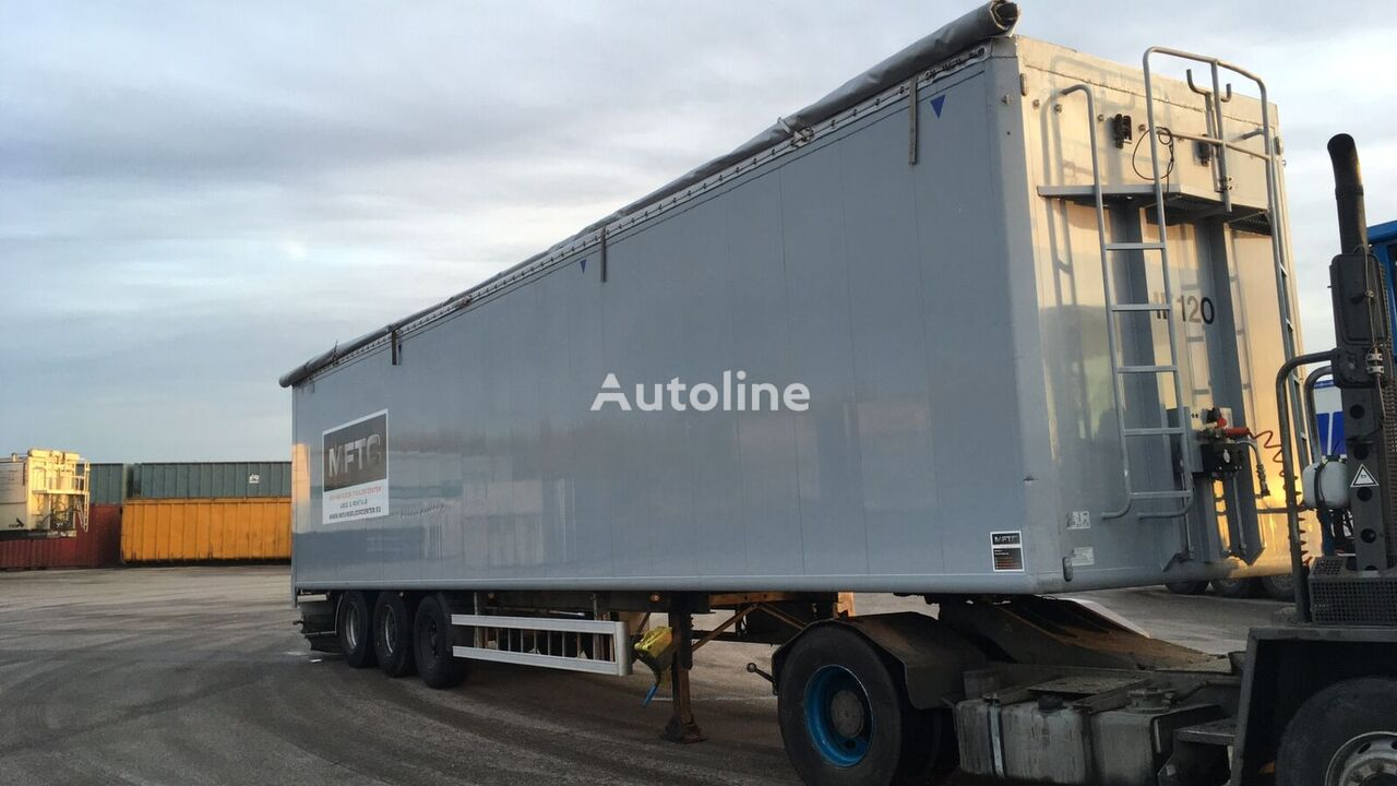 KRAKER CF 200 walking floor semi-trailer