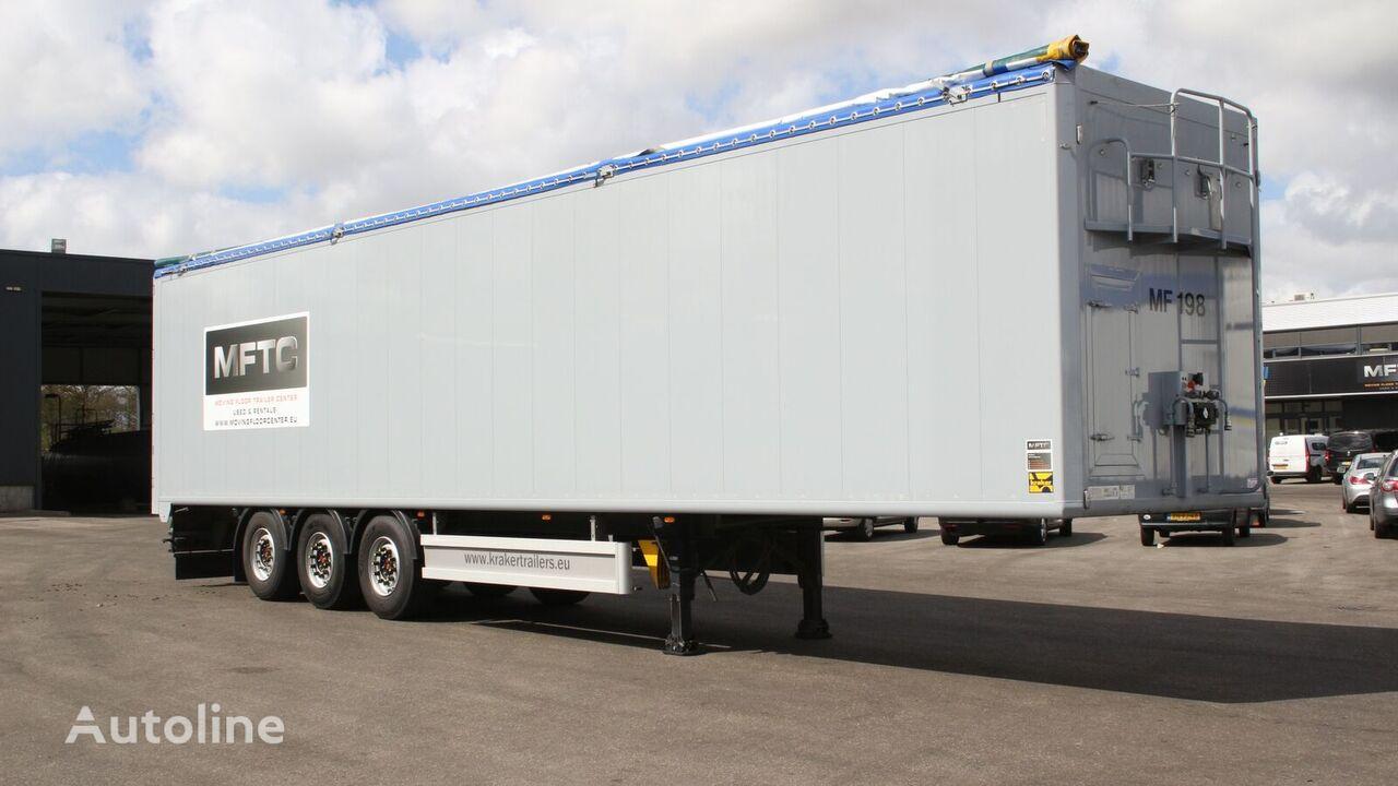 KRAKER CF 200 walking floor semi-trailer