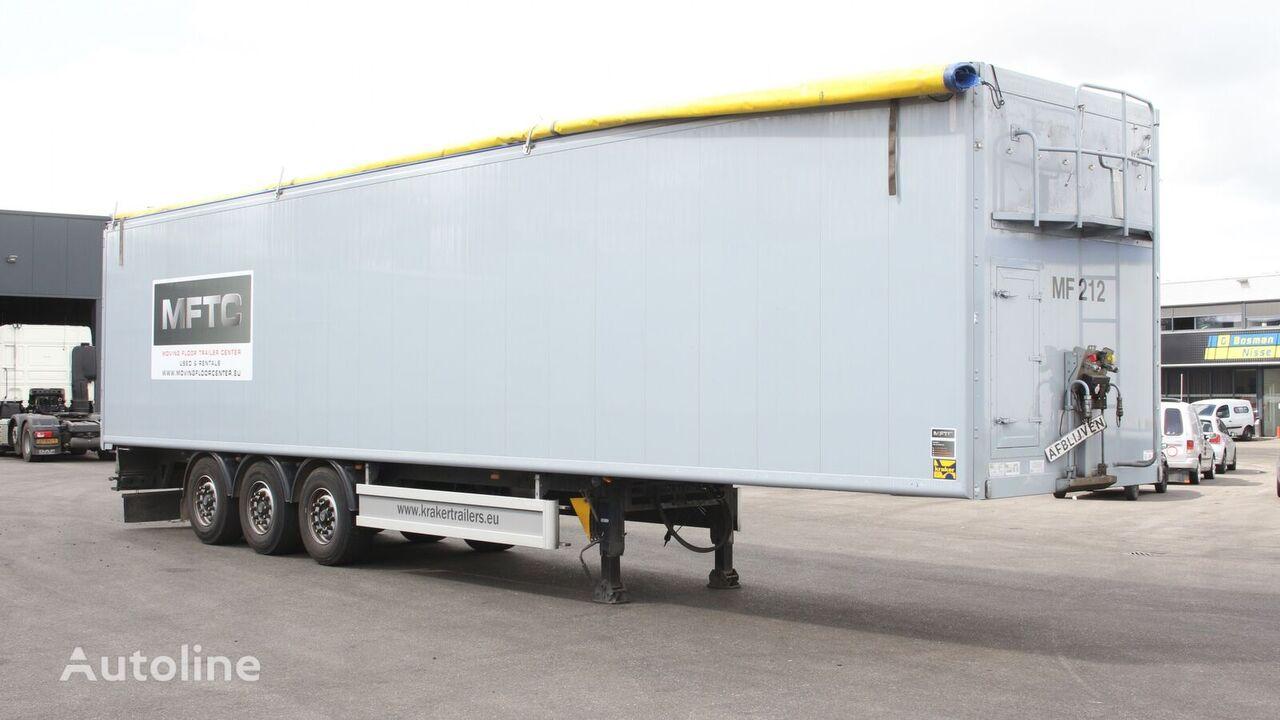 KRAKER KForce walking floor semi-trailer