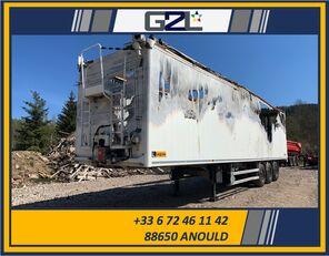 damaged LEGRAS FOND MOUVANT 3 ESSIEUX *ACCIDENTE*DAMAGED*UNFALL* walking floor semi-trailer