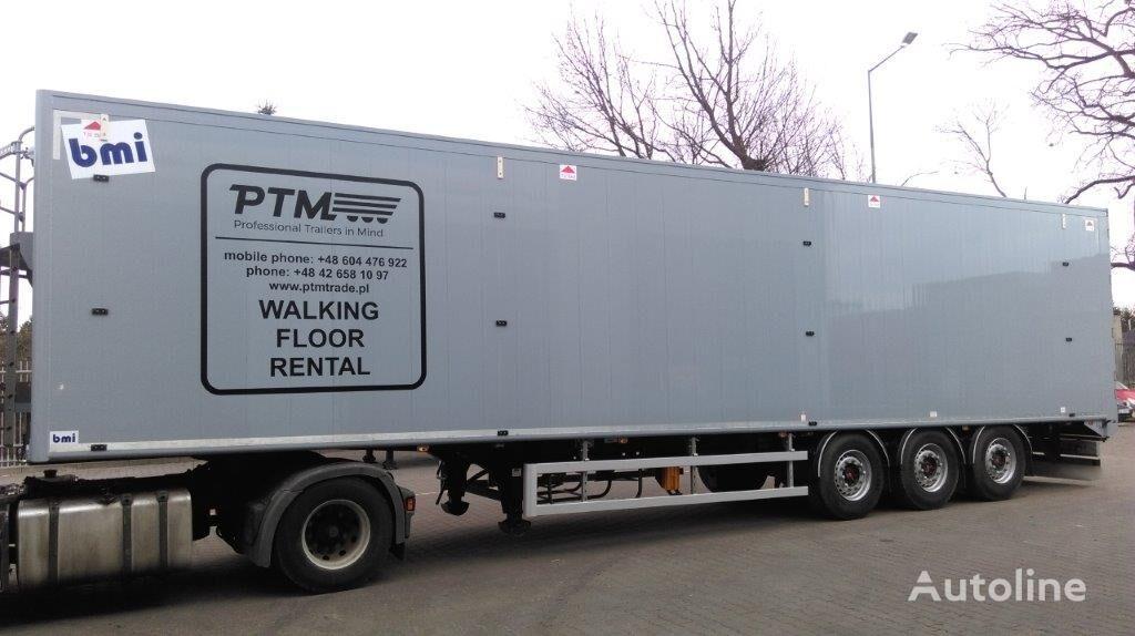 STAS BMI walking floor semi-trailer