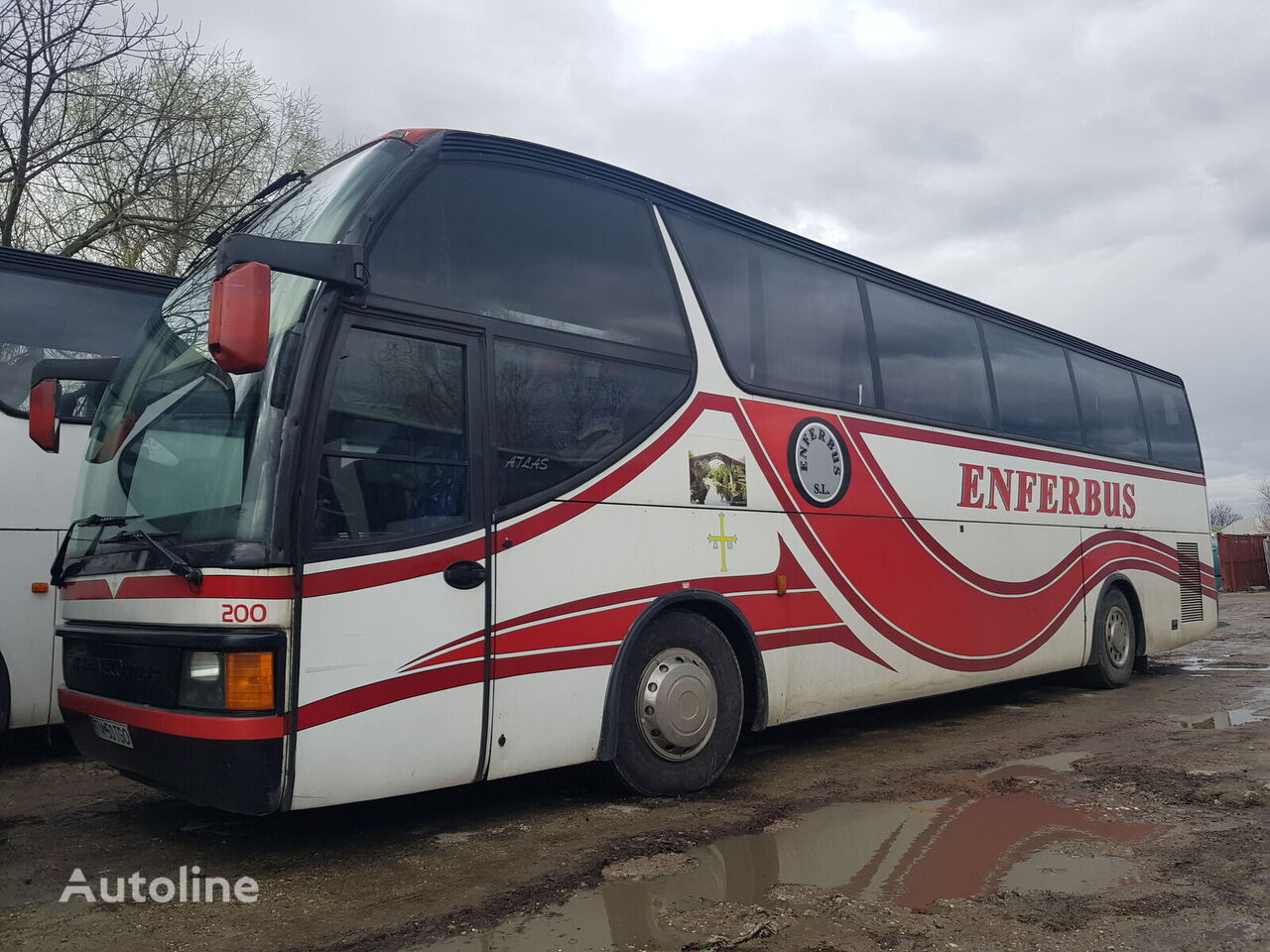 IVECO Atlas sightseeing bus