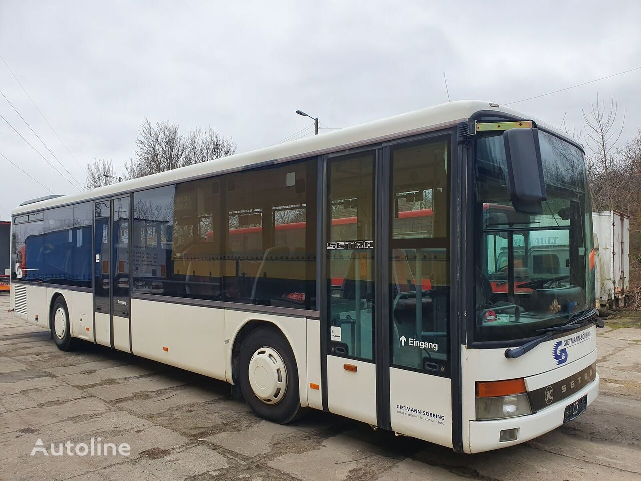 SETRA 315NF MANUAL  sightseeing bus