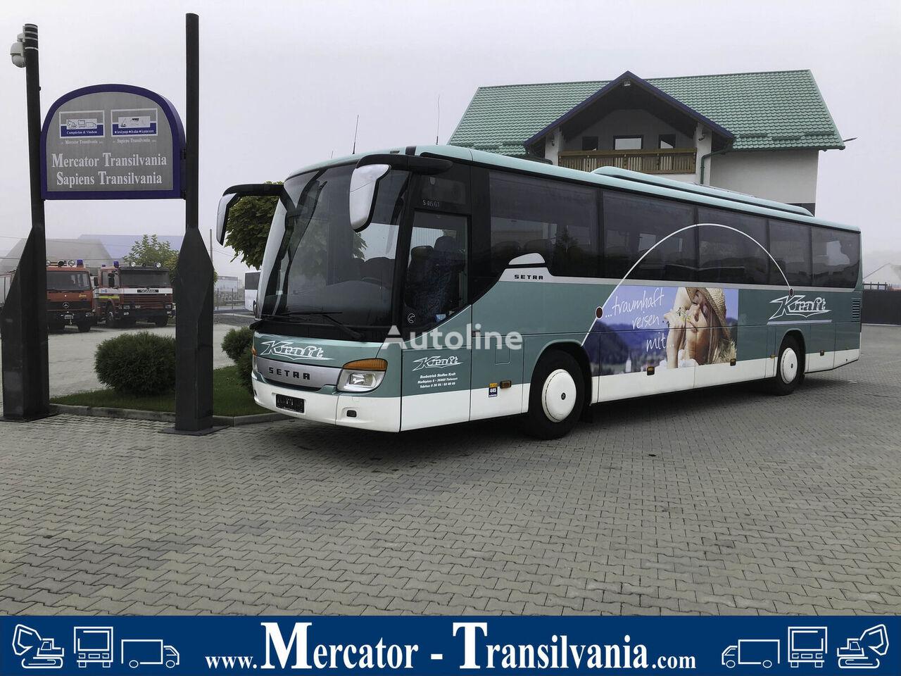 SETRA  S 415 GT | WC | Xenon | Schaltgetriebe | Retarder | 408 PS sightseeing bus