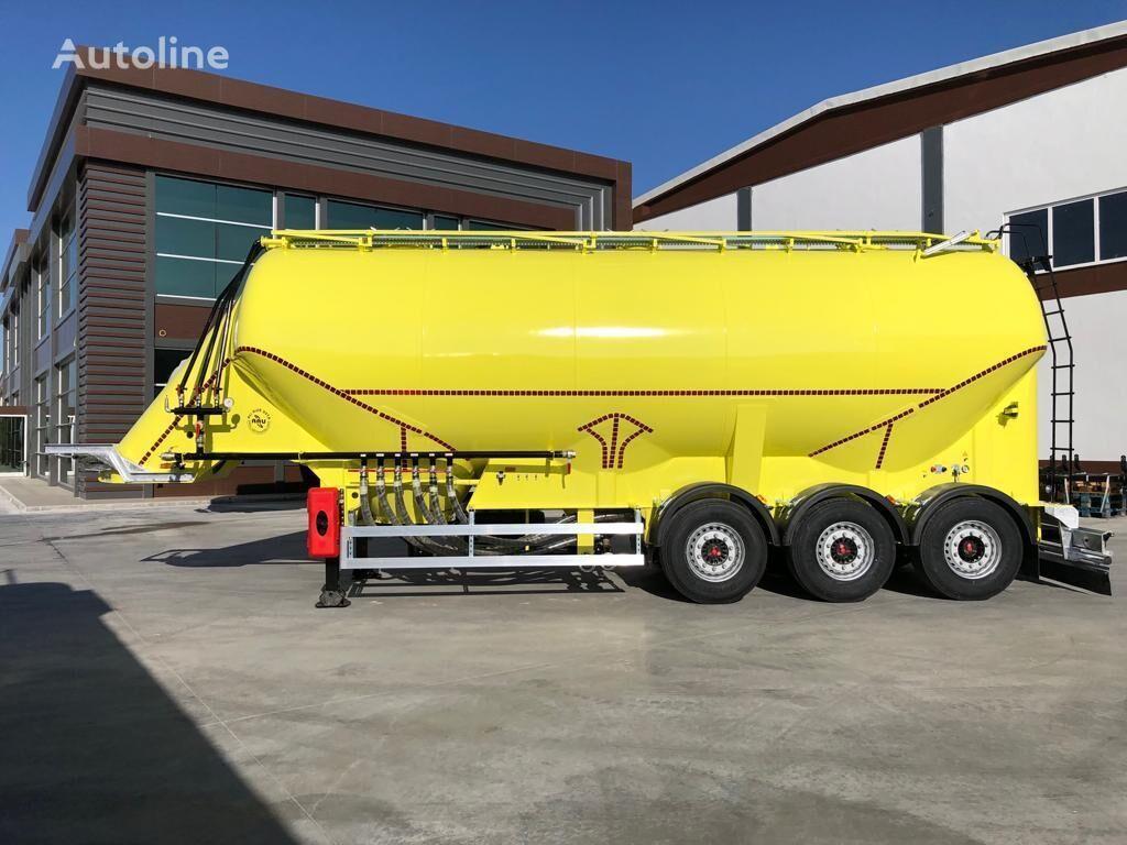 new ALI RIZA USTA ARU silo tank trailer