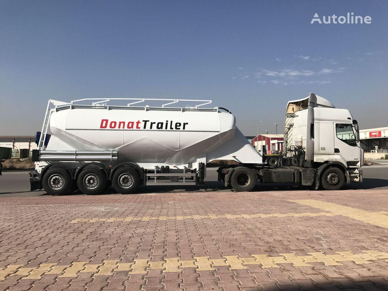 new DONAT Aluminum W-Type Non-Tipping silo tank trailer