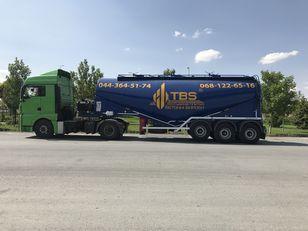 new EMIRSAN 2021 New 30 Cbm V Type Cement Bulker Trailer silo tank trailer