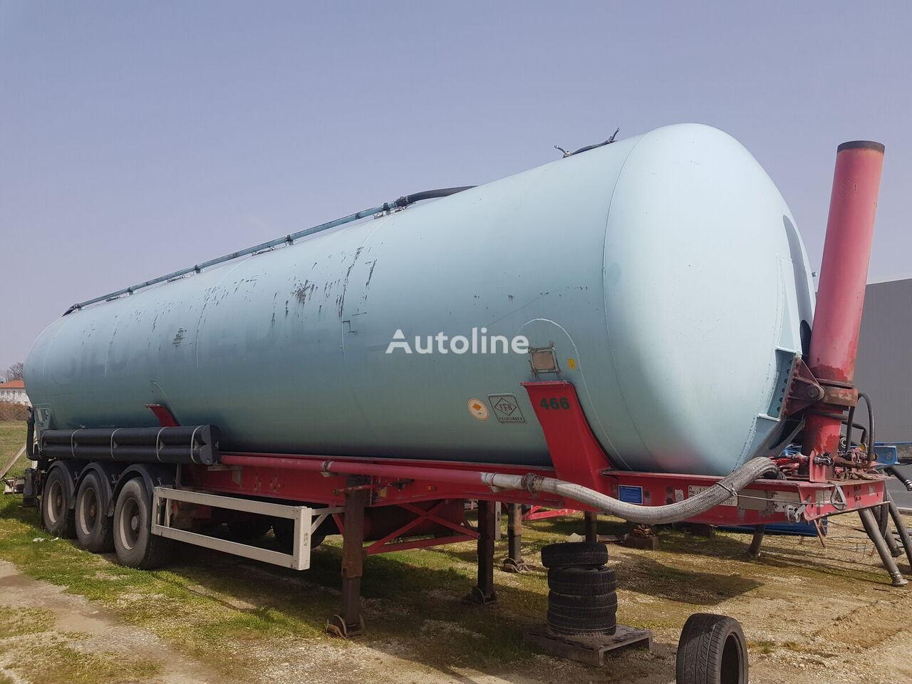 FELDBINDER KIP 60.3 m3 silo tank trailer
