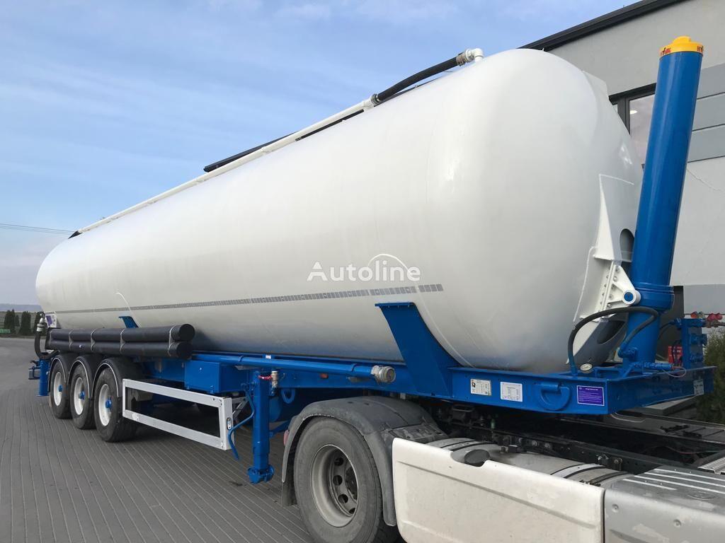FELDBINDER KIP 60.3 steel silo tank trailer