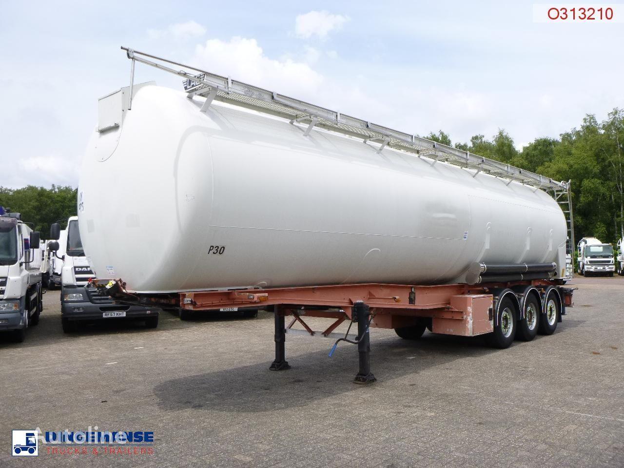 LAG Powder tank alu 60.5 m3 (tipping) silo tank trailer
