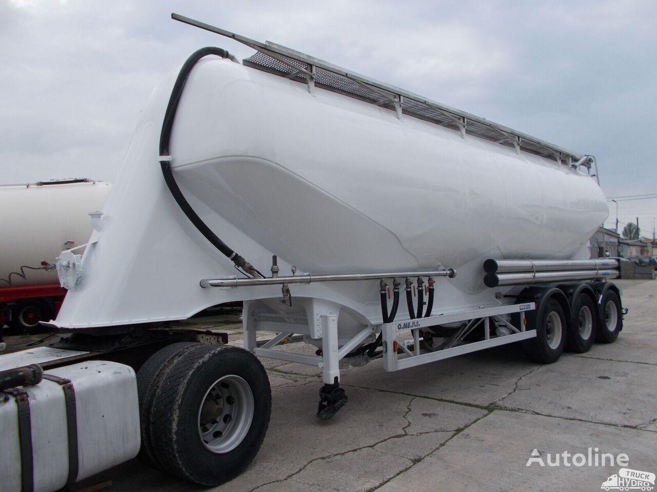 OMEPS CM 45 - DO MĄKI - CZYSTA W ŚRODKU !! 2 SZTUKI - 3 KOMORY silo tank trailer