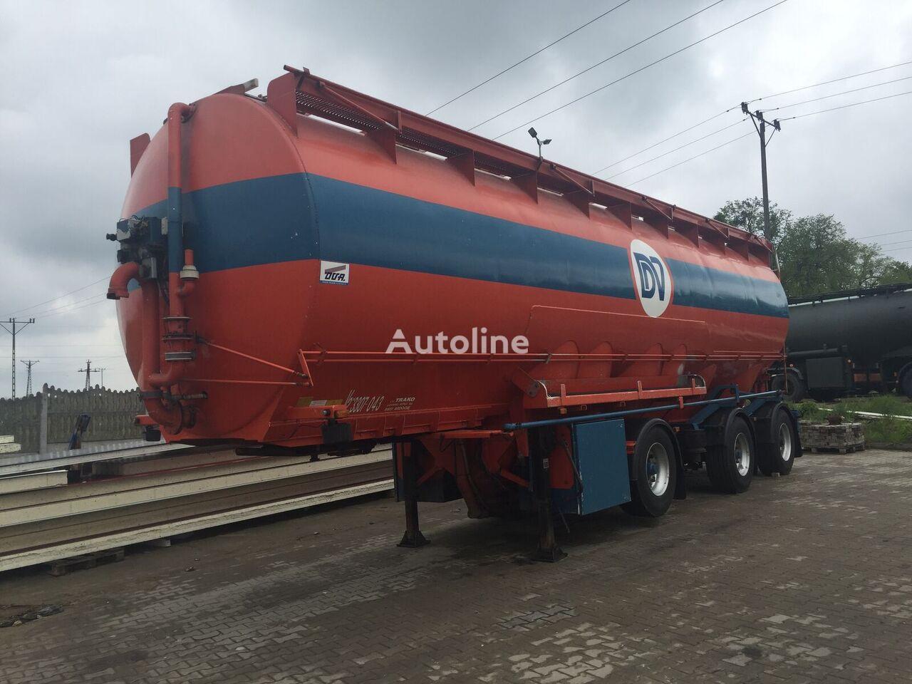 OVA PASZOWÓZ Transport Pasz / WELGRO silo tank trailer