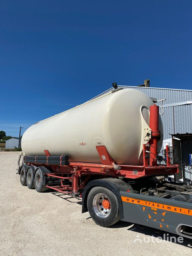 SPITZER 47M3 silo tank trailer