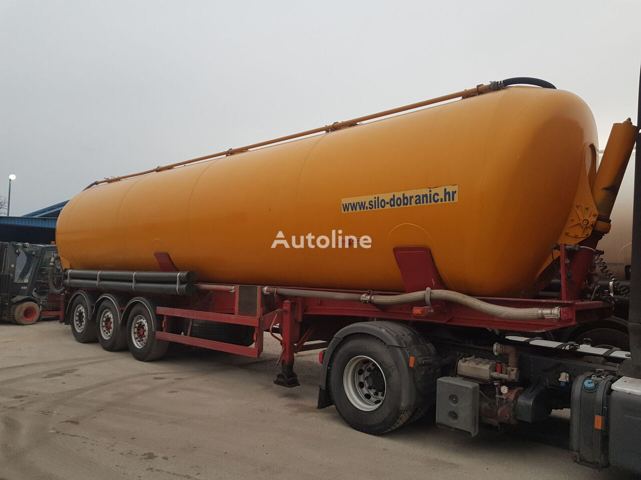 SPITZER KIP 60m3 silo tank trailer