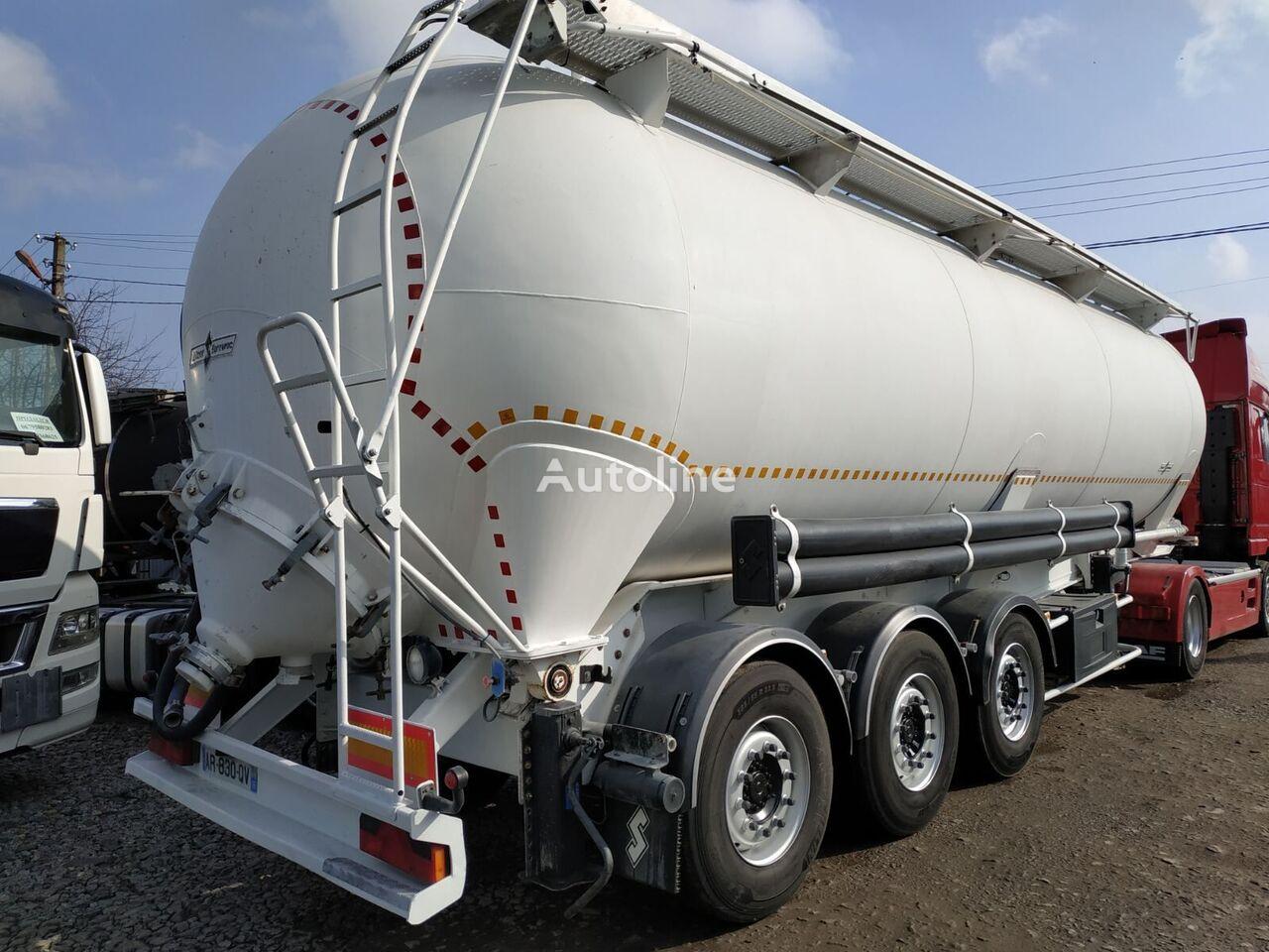 SPITZER SAF silo tank trailer