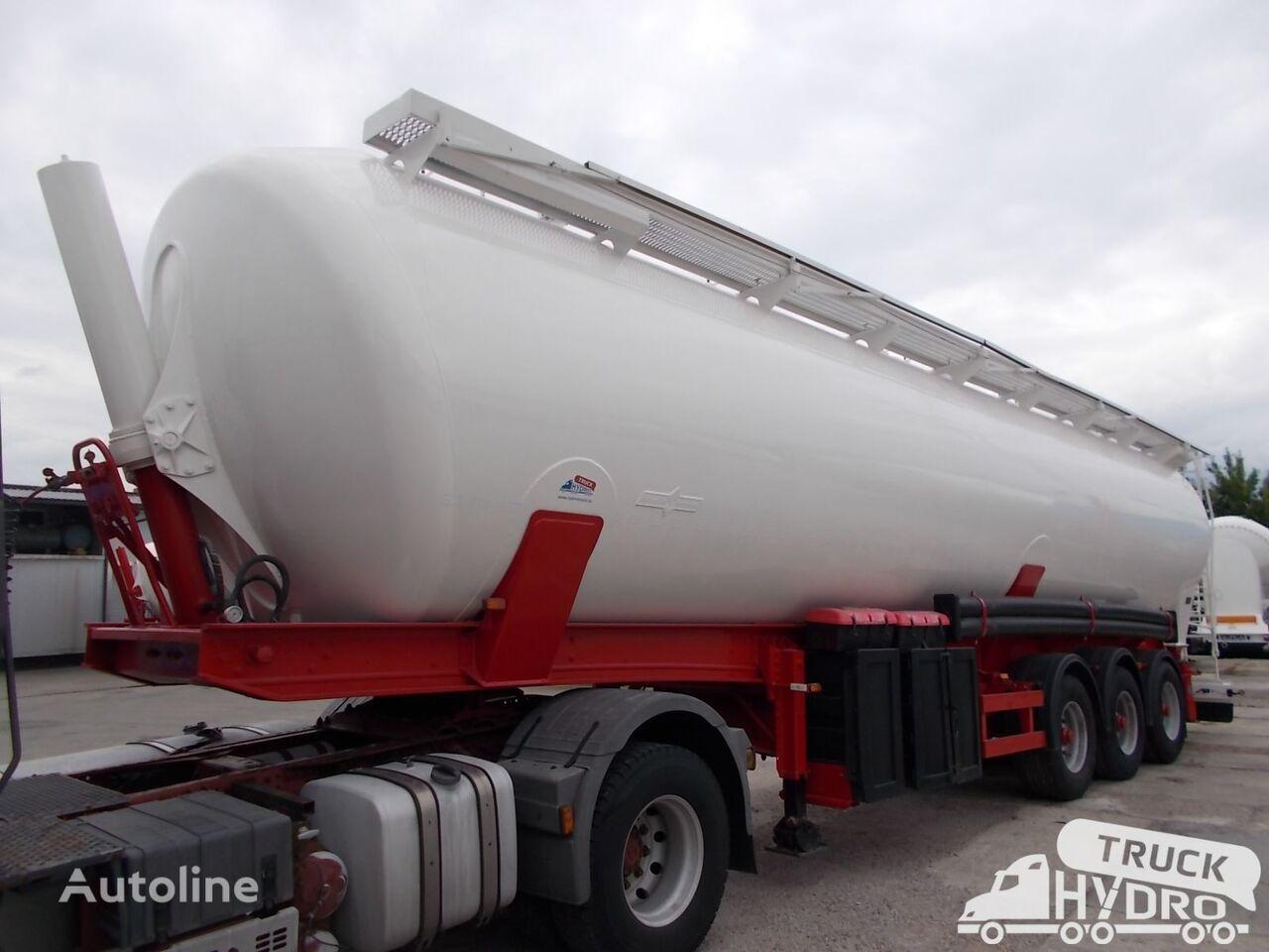 SPITZER SK 2460 CAL - NOWY LAKIER - Własna hydraulika HS24V ! silo tank trailer